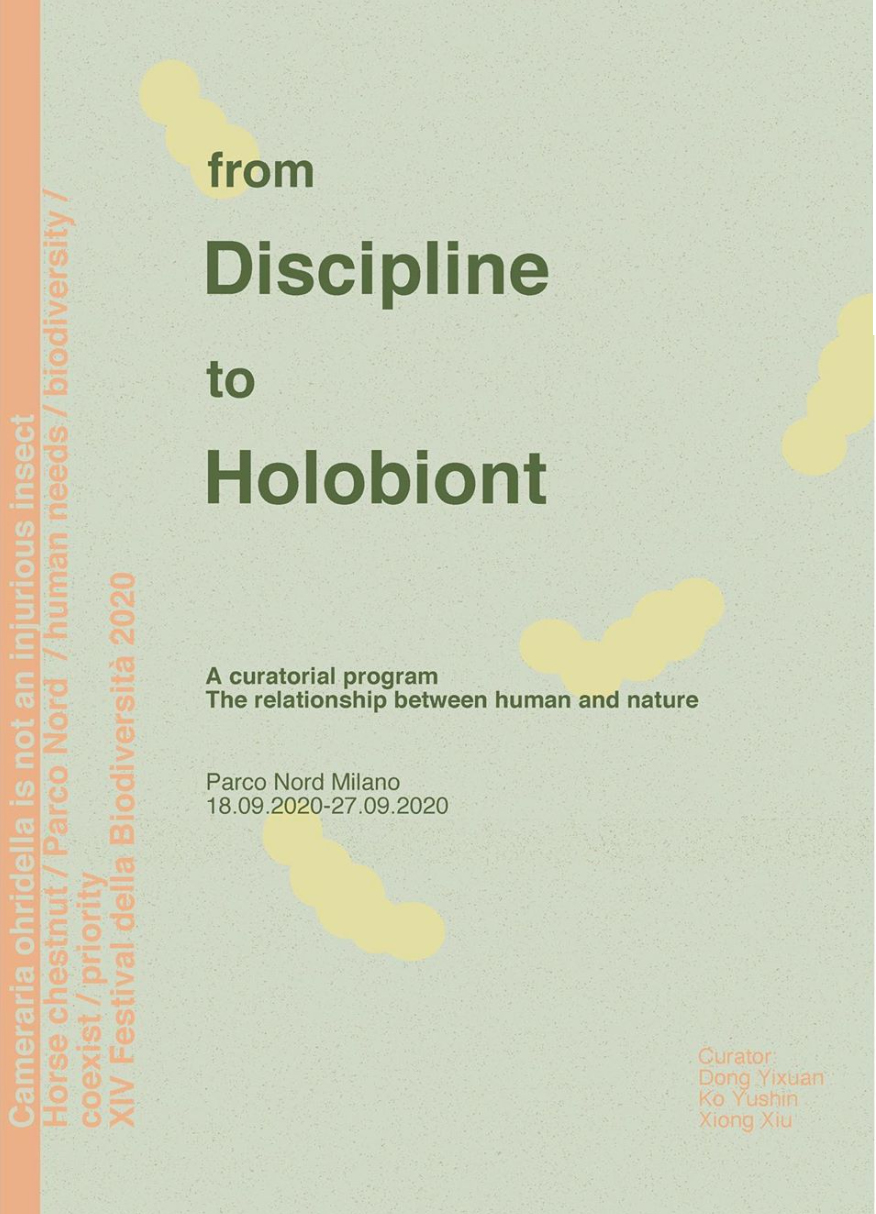 from discipline to holobiont