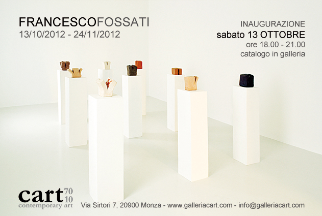 francesco fossati at galleria cart