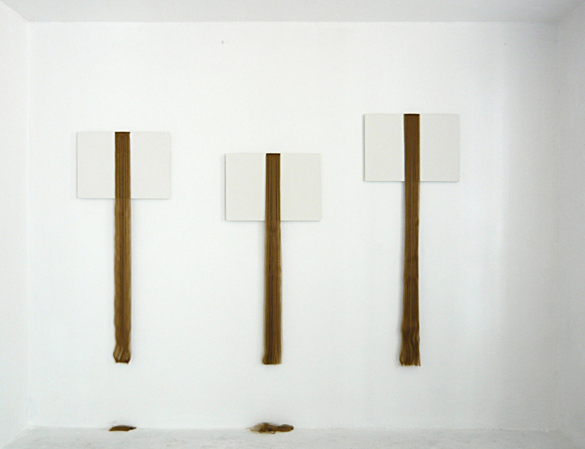 Francesco Fossati, Manifatture, 2009, installation view at Mon Ego Contemporary, Como