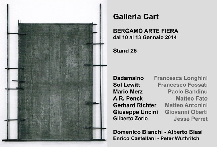 confronti - galleria cart at BAF 2014 - Bergamo