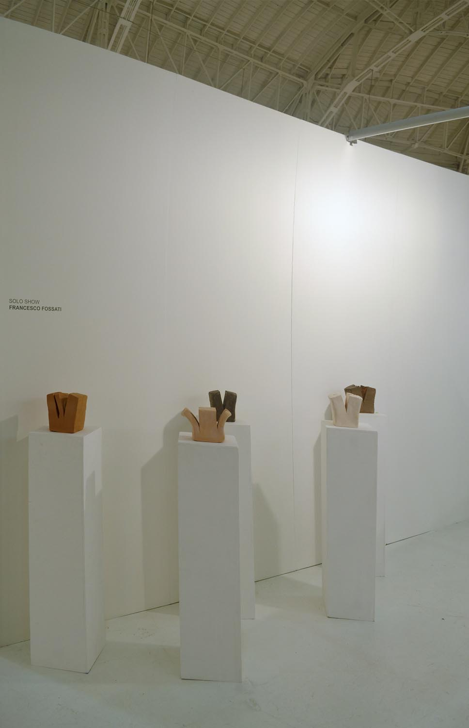 Francesco Fossati, Non specificity of medium, curated by Simone Frangi, installation view