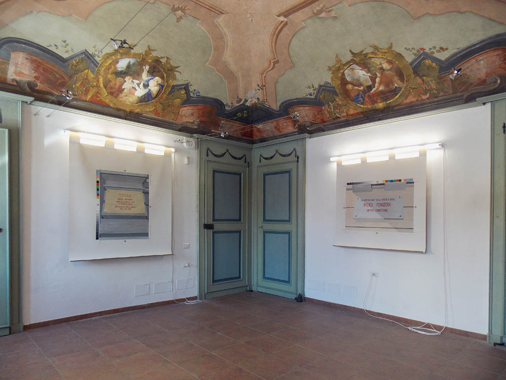 francesco fossati, installation view at museo tornielli ameno - studi aperti 2013