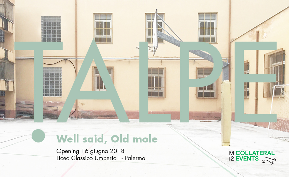 talpe, palermo, collateral event of Manifesta12
