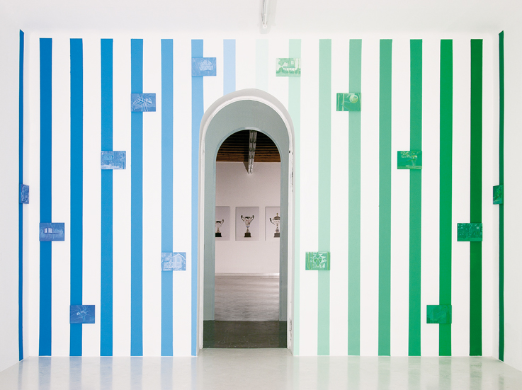 Francesco Fossati, Hippy Architecture Vol.3, 2012 installation view at Galleria Cart