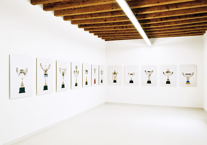 Francesco Fossati, Late Again, 2009-2012, installation view at Galleria Cart