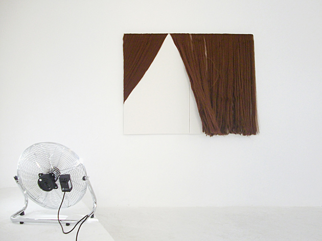 Francesco Fossati, Manifatture, 2009, installation view at Mon Ego Contemporary