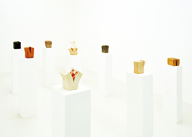 "Francesco Fossati, """"sculture"""", 2012, installation view at Galleria Cart, Monza"